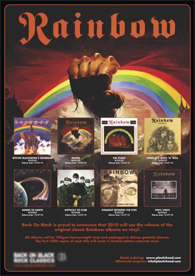 rainbow vinyl reissues