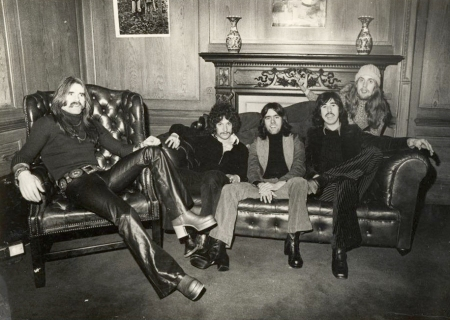 Micky Moody later to join Whitesnake in his 1973 band Snafu