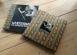 whitesnake biography in slipcase