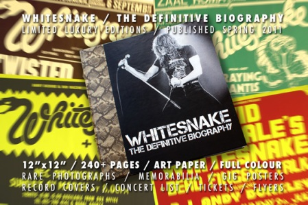 whitesnake biography and concert posters