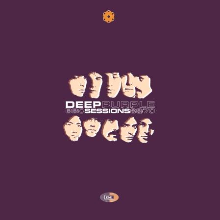 Deep Purple BBC Sessions vinyl box artwork