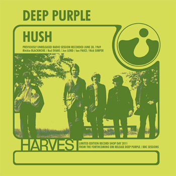 Deep Purple record store day single Hush