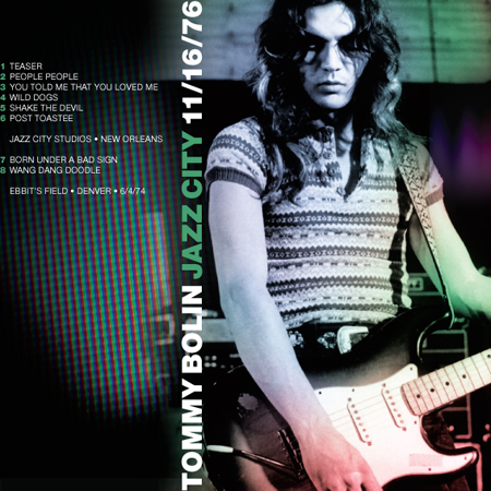Tommy Bolin cover