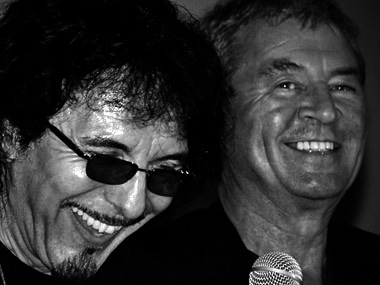 tony iommi and ian gillan who cares
