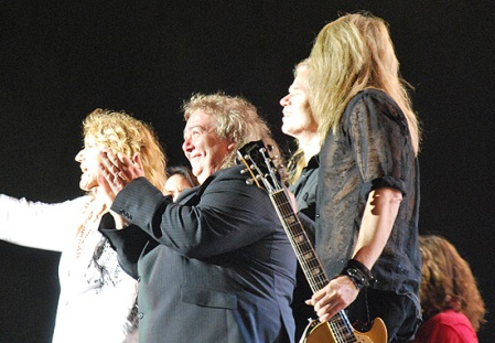 Bernie Marsden and David Coverdale 2011