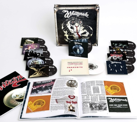 Whitesnake Box Of Snakes Sunburst box set