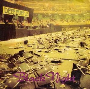 deep purple black-night-45 EMI 1980