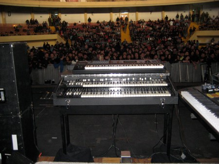Deep Purple keyboards chile 2011