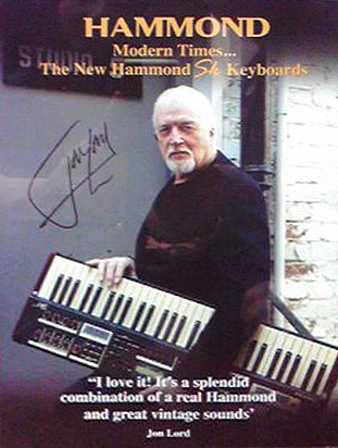 Jon Lord Hammond advert