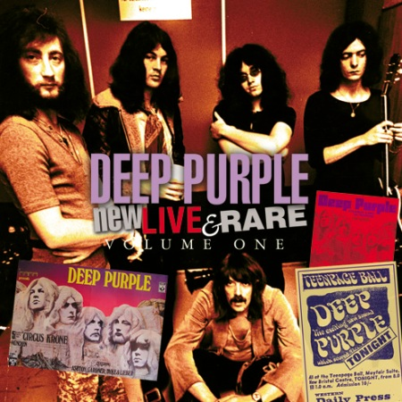 deep purple new live and rare CD cover 2011