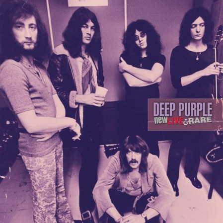 deep purple new live and rare LP cover 2011