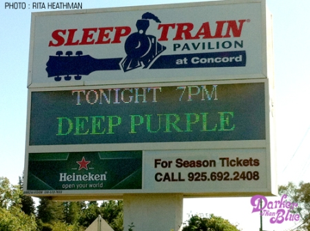 Deep Purple billboard US tour 2011 Concord