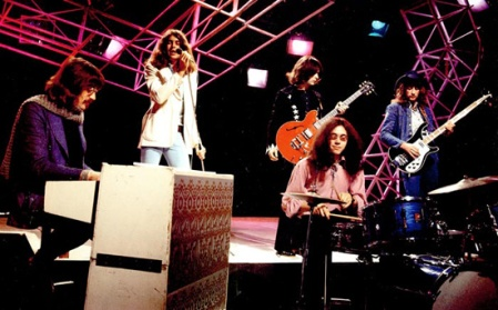 Deep Purple on Top Of The Pops playing Fireball 1971