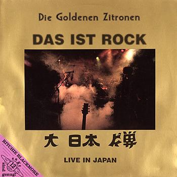 Die Goldenen Zitronen - Live In Japan