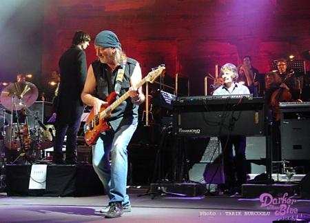 Roger Glover at the Kongresshalle, Schwerin, Germany.