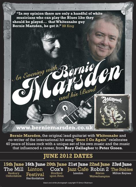 Bernie Marsden concert 2012