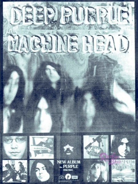 deep purple machine head advert melody maker