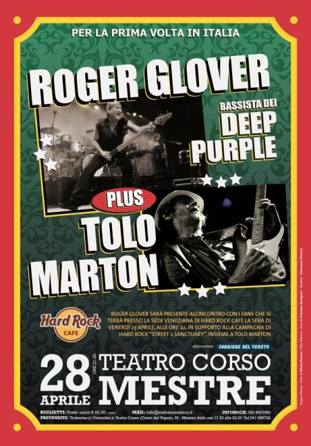 roger glover deep purple tolo marton italy concert april 2012