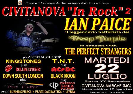 Ian Paice Italy July 2014 Perfect Strangers