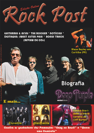 Deep Purple Rock Post magazine Brazil 2011