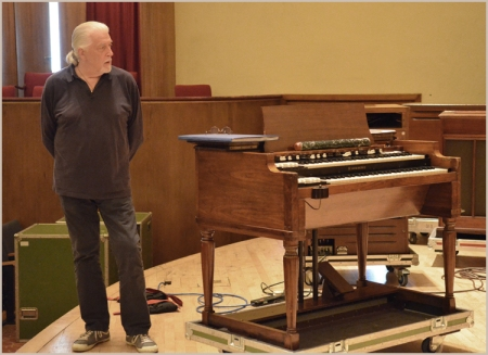 Jon Lord Deep Purple organist