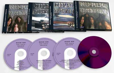 Deep Purple Machine Head 40th Anniversary box set