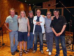 Deep Purple with Bob Ezrin in the studio in Nashville