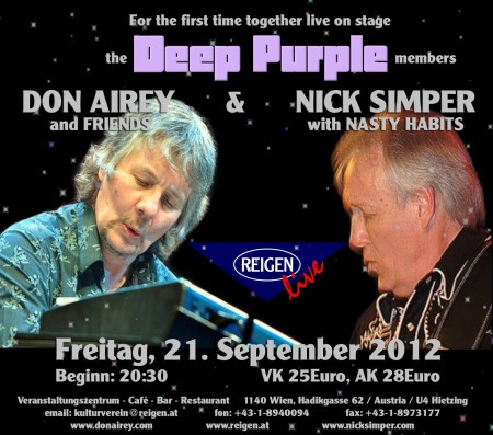 nick simper and don airey live in vienna