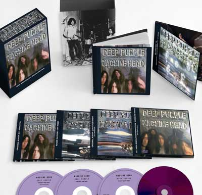 Deep Purple Machine Head 40th Anniversary 5 disc set