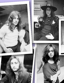 Deep Purple rare photographs Hamburg and Houston