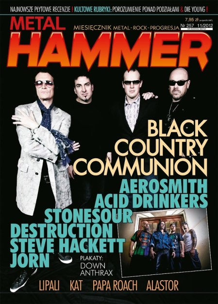Glenn Hughes Black Country Communion Metal Hammer cover