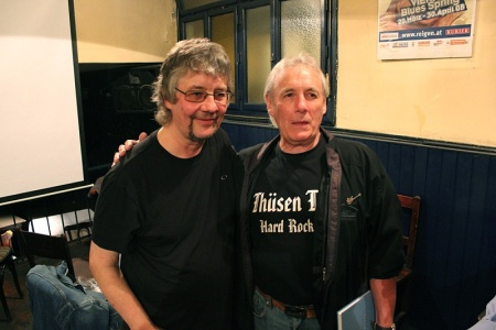 Don Airey and Nick Simper meet 2012