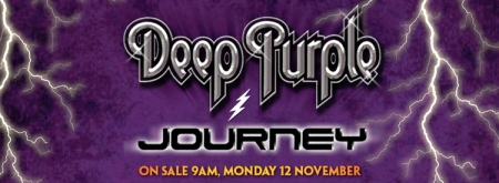Deep Purple Australia 2013 tour advert