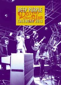 deep purple calendar 2013