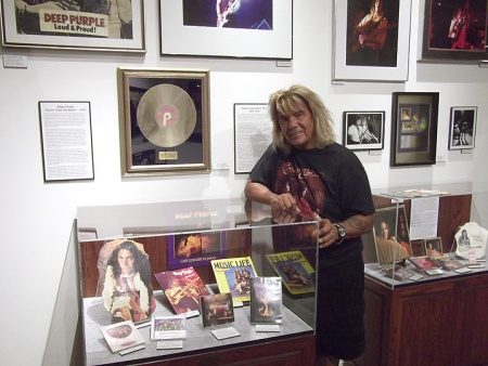 Johnnie Bolin in the exhibition 2012