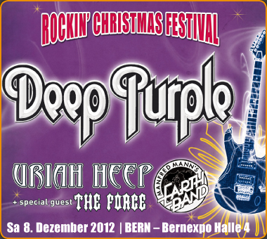 Christmas Berne Deep Purple flyer December 2012