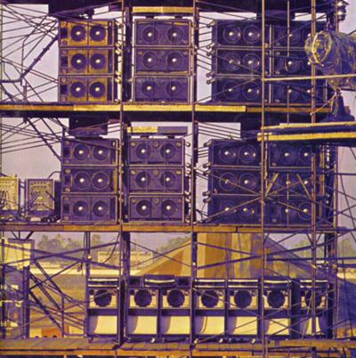 deep purple california jam speaker tower