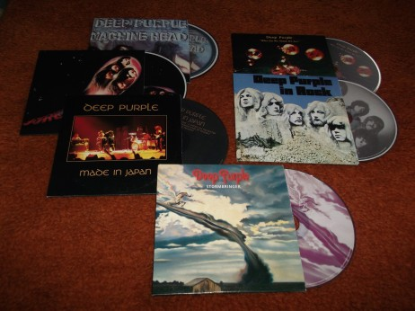 Deep Purple Greek CD set