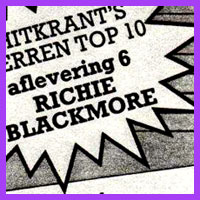 Ritchie Blackmore top ten chart