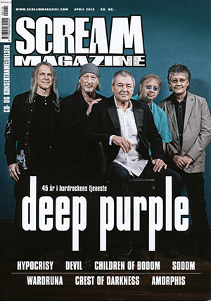 Deep Purple Scream Magazine 2013