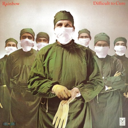 Rainbow Difficult To Cure Hipgnosis album sleeve
