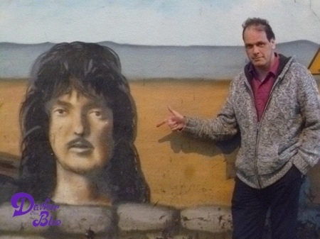 Ritchie Blackmore mural Weston Super Mere