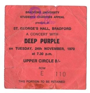 Deep Purple Bradford 1970