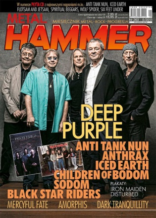Deep Purple Metal Hammer magazine Poland