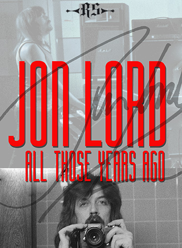 Jon Lord All Those Years Ago book RS Publishing