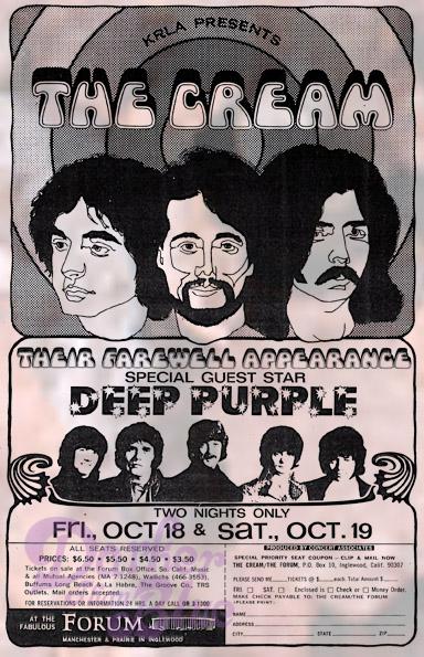 Deep Purple los angeles forum