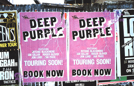 Deep Purple Sydney 1984