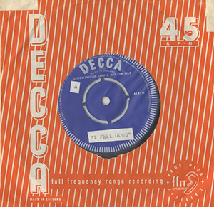 The Artwoods with Jon Lord Decca single
