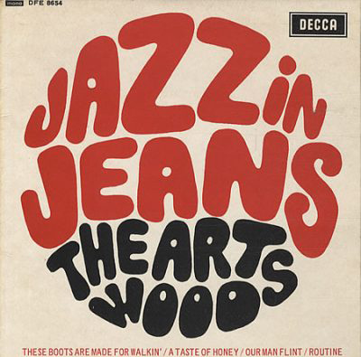 The Artwoods with Jon Lord Jazz in Jeans EP