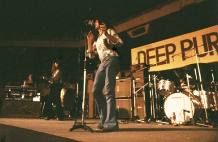 Deep Purple on stage Japan 1972